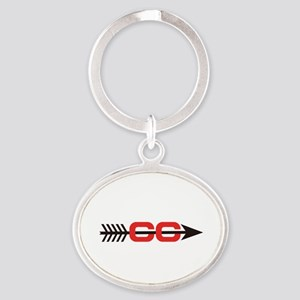 Cross Country Logo Keychains