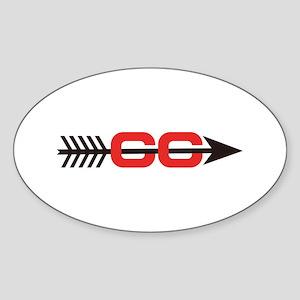 Cross Country Logo Sticker