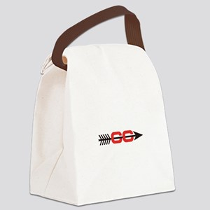 Cross Country Logo Canvas Lunch Bag
