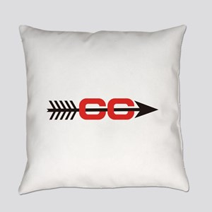Cross Country Logo Everyday Pillow