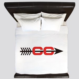 Cross Country Logo King Duvet