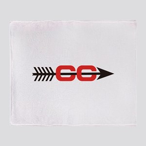 Cross Country Logo Throw Blanket