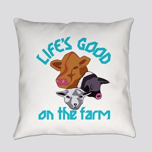 Farming Life is Good Everyday Pillow