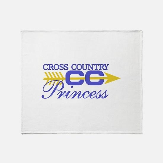 Cross Country Princess Throw Blanket