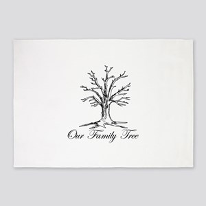 Our Family Tree 5'x7'Area Rug