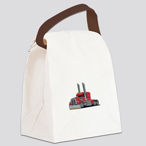 Truck Canvas Lunch Bag