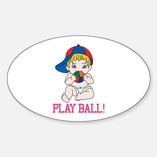 Play Ball! Decal