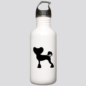 Chinese Crested Stainless Water Bottle 1.0L