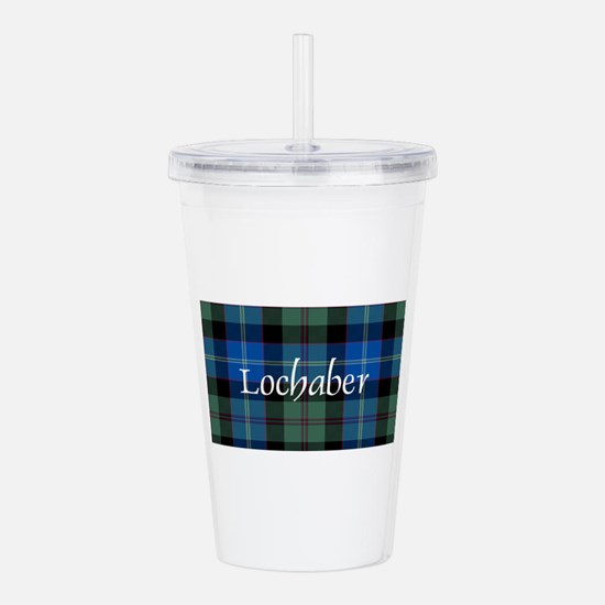 Tartan - Lochaber dist Acrylic Double-wall Tumbler