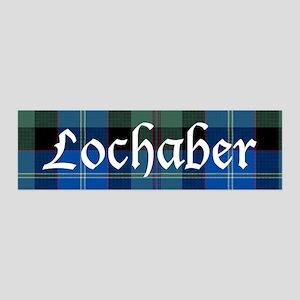 Tartan - Lochaber dist. 36x11 Wall Decal
