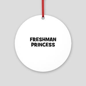 freshman Princess Ornament (Round)