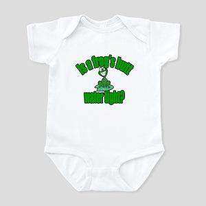 Frogs Butt Infant Bodysuit