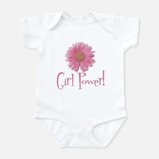 Girl Power Daisy Infant Bodysuit