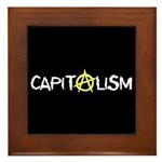 Anarcho-Capitalist Framed Tile