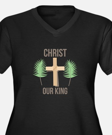 Christ Our King Plus Size T-Shirt