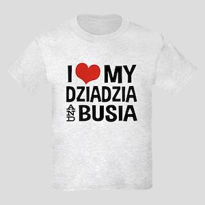 Dziadzia and Busia Kids Light T-Shirt