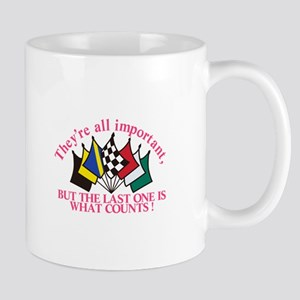 The Last One Counts Mugs