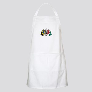 7 Racing Flags Apron
