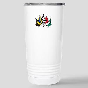 7 Racing Flags Travel Mug