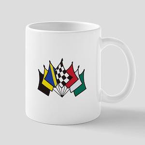 7 Racing Flags Mugs