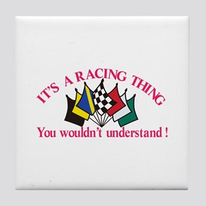 Its a Racing Thing Tile Coaster