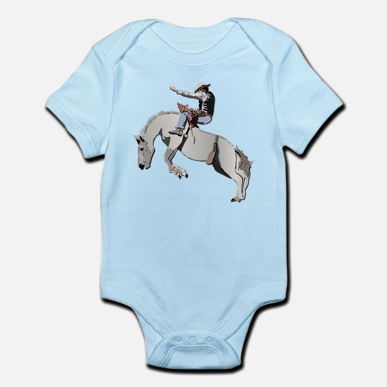 Bronc Rider Infant Bodysuit