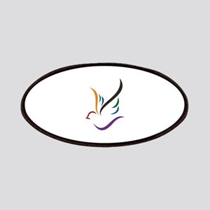 Abstract Dove Patch
