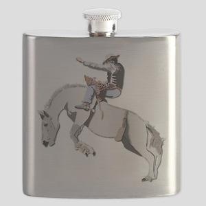 Bronc Rider Flask