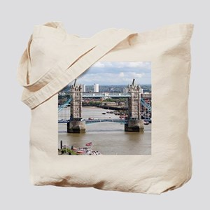 Tower Bridge, Thames River, London, Engla Tote Bag