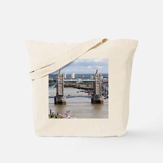 Tower Bridge, Thames River, London, Engla Tote Bag