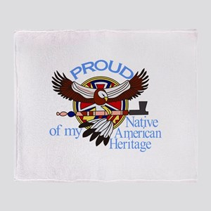 Proud Throw Blanket