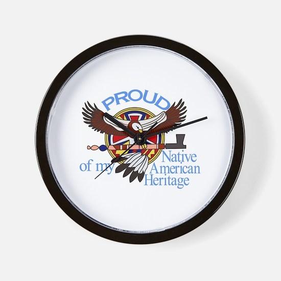 Proud Wall Clock