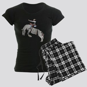 Bronc Rider Women's Dark Pajamas