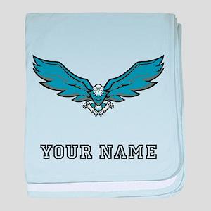 Blue Eagle (Custom) baby blanket