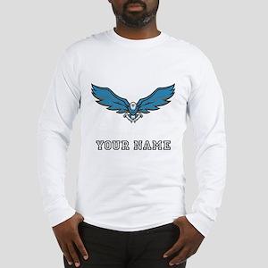 Blue Eagle (Custom) Long Sleeve T-Shirt