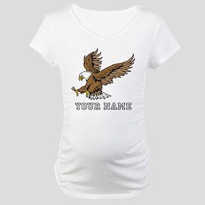Bald Eagle (Custom) Maternity T-Shirt