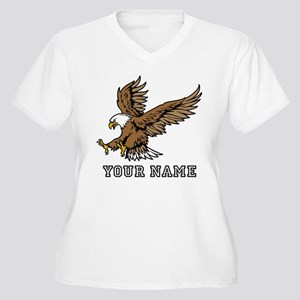 Bald Eagle (Custom) Plus Size T-Shirt