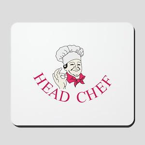 Head Chef Mousepad