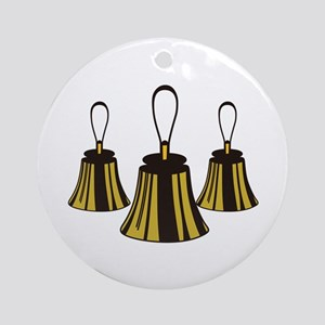 Three Handbells Ornament (Round)