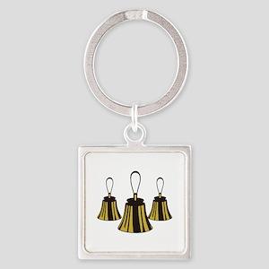 Three Handbells Keychains