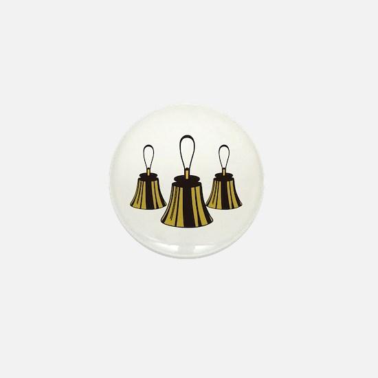 Three Handbells Mini Button