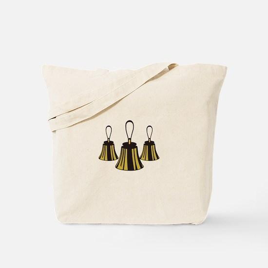 Three Handbells Tote Bag