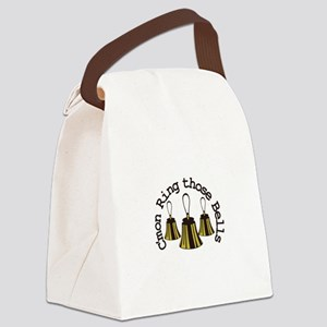 Cmon Ring Those Bells Canvas Lunch Bag