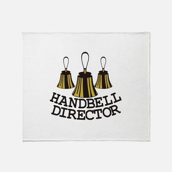 Handbell Director Throw Blanket