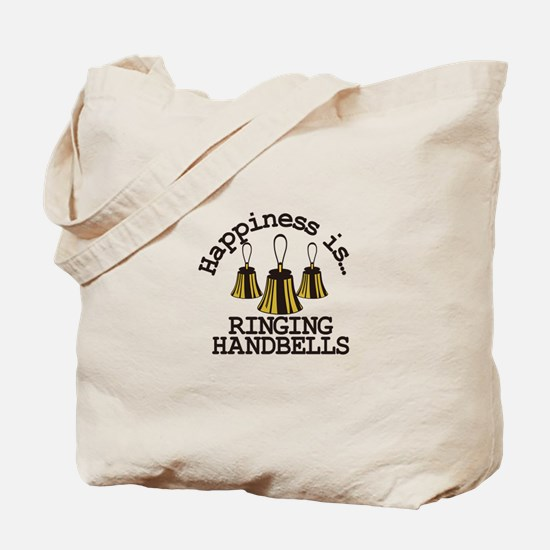 Happiness is Ringing Tote Bag