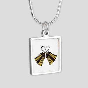 Crossed Handbells Necklaces