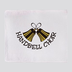 Handbell Choir Throw Blanket