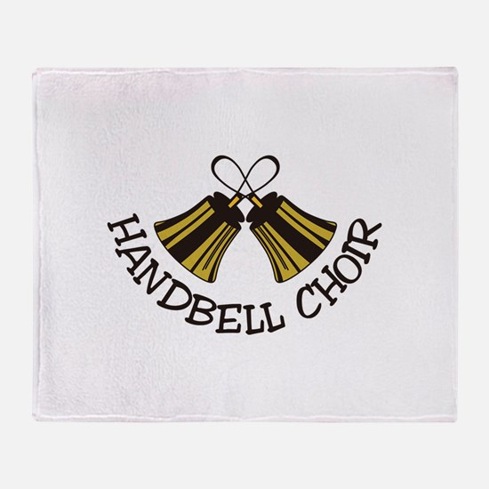 Handbell Choir Throw Blanket
