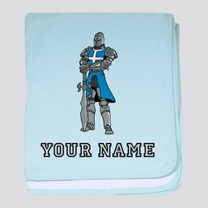 Medieval Knight (Custom) baby blanket