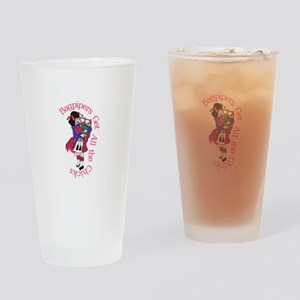 All the Chicks Drinking Glass